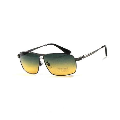 ASD Gafas De Sol Polarizadas De Aluminio Y Magnesio De Doble Propósito Para Día Y Noche