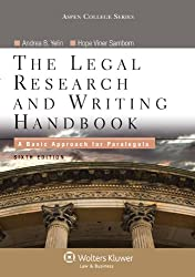 Image of the product The Legal Research and that is listed on the catalogue brand of Aspen Publishers, Inc..