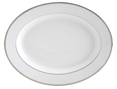 Buy Cameo Platinum 14 Inch Oval Platter online at Mikasa.com