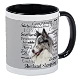 CafePress - Sheltie Traits - Unique Coffee Mug, Coffee Cup