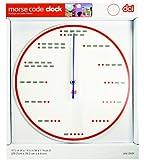 DCI Morse Code Wall Clock