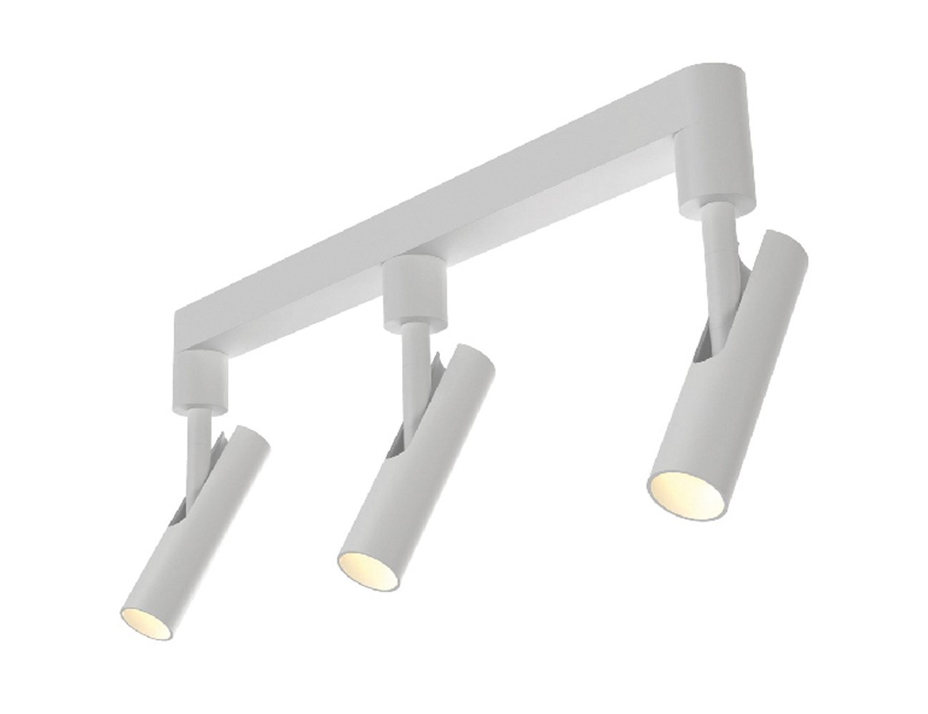 Nordlux 76690001 Plafonnier MIB avec spots 3 W LED Blanc [Classe énergétique A] Gautzsch