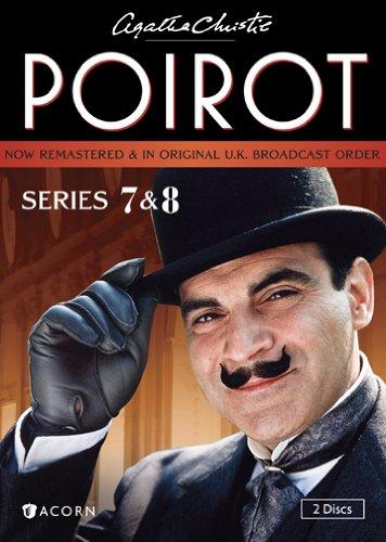 DVD : Agatha Christie's Poirot: Series 7 And 8 (DVD)
