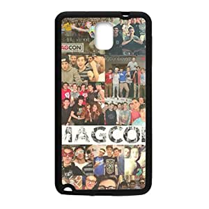 2015 Bestselling Magcon Phone Case for Sumsung Note 3 black