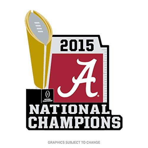 2015 College Football National Championship Alabama Crimson Tides Collectors Trophy (Alabama Crimson Tide Pins)