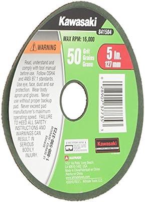 3 in Disc Dia 18000 RPM Non-Woven Finishing Disc Aluminum Oxide 63 Units