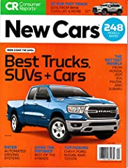 """*Expert Advise from the Editors of Consumer Reports Magazine. *Reviews and Reliability Ratings for 248 Cars, Trucks and SUVs. *Take the guesswork out of Buying a new car! *Articles include """"The Top New Pickups,"""" """"Child Car Seats,"""" and Much Mo..."""