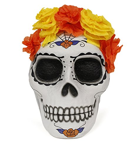 Basket pinata Skull Catrina,Halloween, Day of the (Day After Halloween Candy Sales)