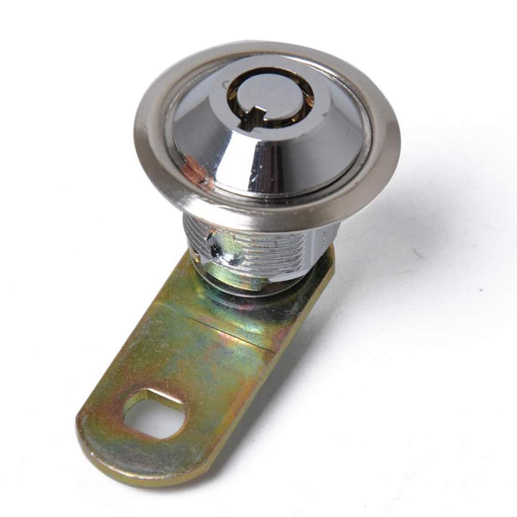 4 x Briefkastenschloss Hebelzylinder Universal M19 x 16 mm Schrank M/öbel Schubladeschloss mit 8 Schl/üsseln