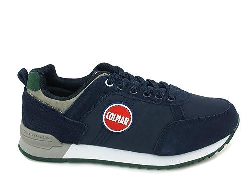 Colmar Sneakers Bambino Travis Colors Kids Navy Dk Gray Nuovo  Amazon.it   Scarpe e borse bca77bf3cce