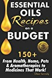 Essential Oils Recipes on a Budget: 150+ From Health, Home, Pets & Aromatherapies to Medicines That Work!