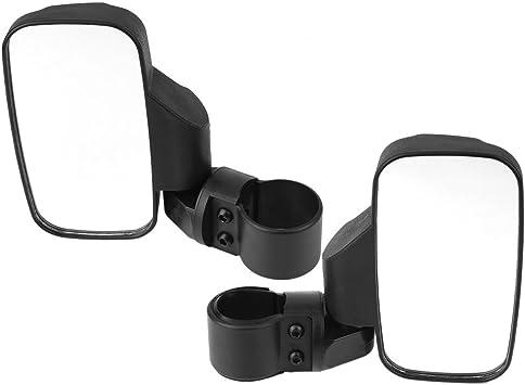 "Ranger 1000 900 1.75 /"" 2/"" UTV Side Mirror Set Roll Bar Cage for Polaris RZR"