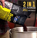 SPILLFIX - 2 in 1 Spill Absorbent & Sweeping