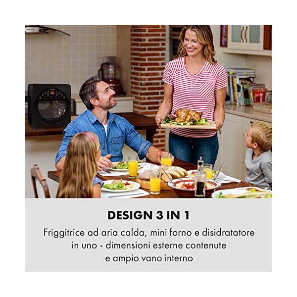 KLARSTEIN AeroVital Easy Touch - Friggitrice ad Aria Calda, Forno ad Aria Calda, Mini Forno, 1700W, XXL: 14L, 16… 2