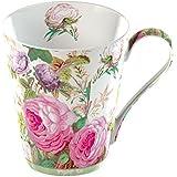Creative Tops 1-Piece Fine Bone China V&A Brompton Rose Mug in a Gift Box, Pink