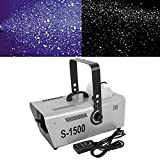 Tengchang 1500W Two Speed Snow Maker Snowflake Machine Stage DJ Effect w/Remote Control