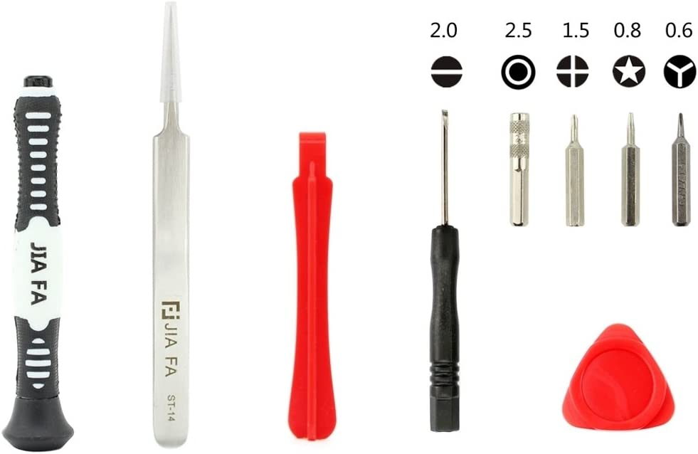 7//7 Plus JF-iphon7 9 in 1 Phone Repair Tool Set for Phone 6 5s 5 4s 6s Plus 6 Plus Convenient Family Must-Have Repair Tool for iPhone 4 6s