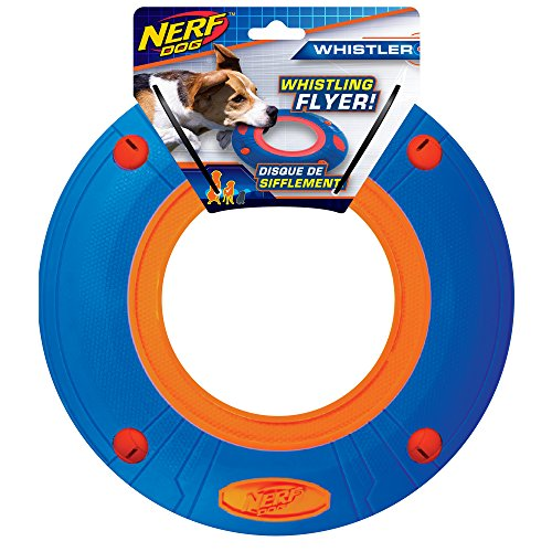 Nerf Dog 10 Inch Large Flyer Blue/Orange, Dog Toy