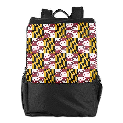 Laptop Backpack Travel Women School Maryland Men Flag Bookbag College Pride Uhfgyhuihjf qH0XSF