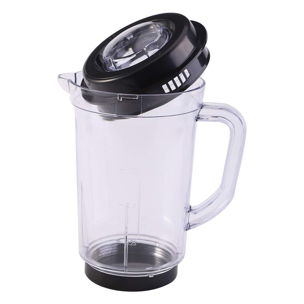Delaman Juicer Blender Pitcher Replacement, Plastic 1000ml Water Milk Cup Holder For Magic Bullet