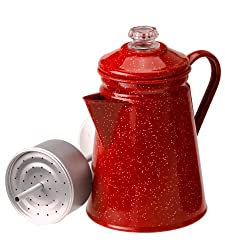 GSI Outdoors 8 Cup Percolator, Red #01254 from GSI OUTDOORS