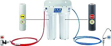 G.F. 1 Water Plus Easy, Purificador agua potable de bajo fregadero, blanco: Amazon.es: Bricolaje y herramientas