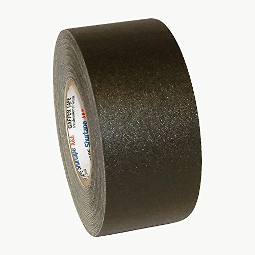 Shurtape P-672 Professional Grade Gaffers Tape: 3 in. x 50 yds. (Black) by Shurtape