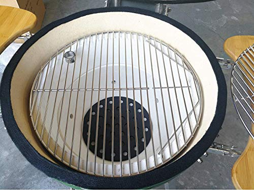 "Hongso SCG195 19.5"" BBQ Stainless Steel Round Cooking Grates/Cooking Grid for Kamado Ceramic"