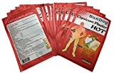 Sundog GO All Natural Hot Therapy Capsicum Patch- Made from Natural hot Peppers - Large 10 Count - Medicated