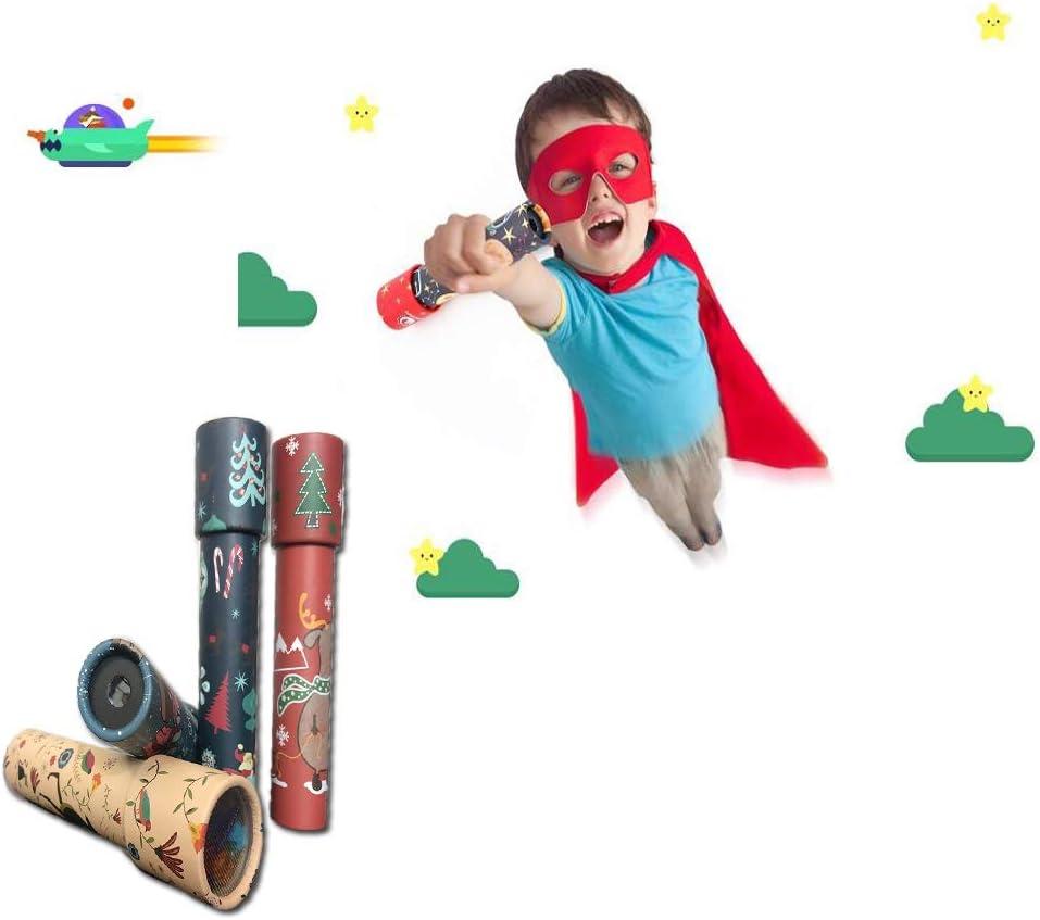 2pcs Kids Toy Pirate Telescope Monocular Telescopic Classic Toy For Children