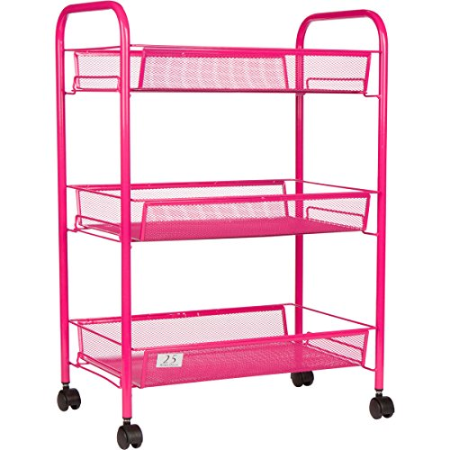 Wire Basket Carts - 7