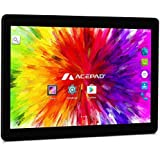 "ACEPAD A121 (10.1"") 3G Tablet PC, 2GB RAM, 64GB Speicher, Dual-SIM, Android 7.0, IPS HD 1280x800, Quad Core CPU, WIFI/WLAN/Bluetooth, USB/SD (Alu-Schwarz)"