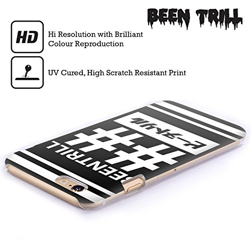 Official Been Trill Double Hashtag 1 Black And White Hard Back Case for Apple iPhone 6 / 6s