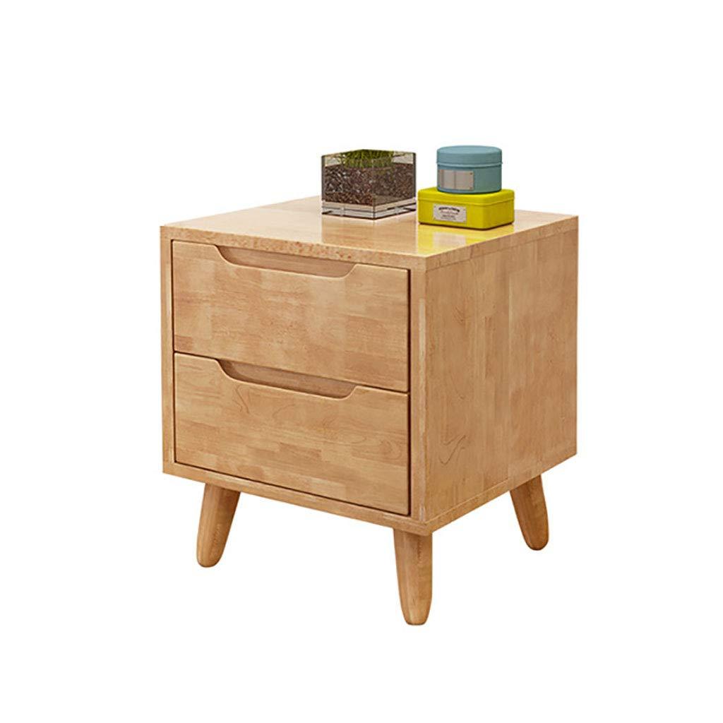 MRLB Nachttisch aus Holz Nachttische frische Farbe Stil einfach Schlafzimmermöbel zu montieren