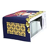LUNA Japanese Style Microwave Oven Dustproof Cover for Home Decor (A9)