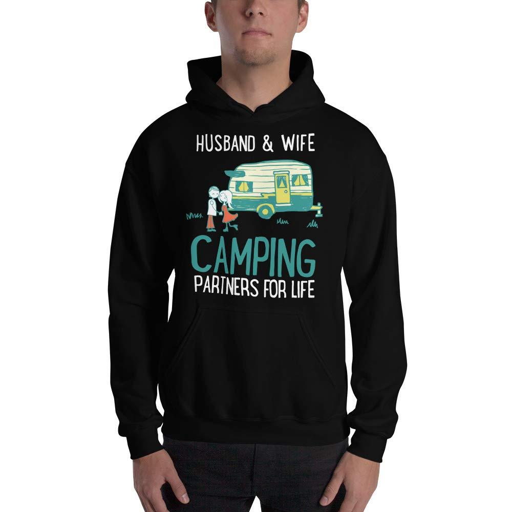 kangarooze Camping Couples Gift Hooded Sweatshirt Camping Gear