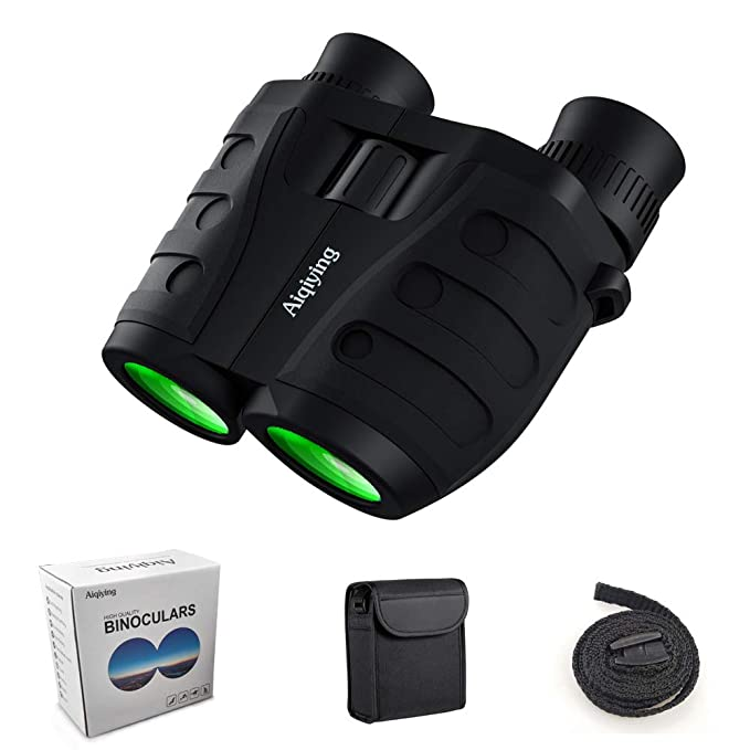 Aiqiying 12x25 Compact Pocket Folding Binoculars - The Best Compact Binocular