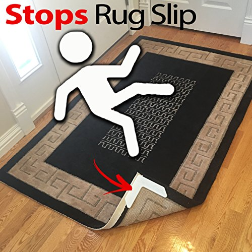Grips The Rug With Nevercurl Includes 4v Shape Corners Patent