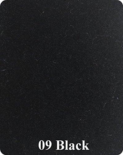 Pontoon Carpet (16 Oz Cutpile Boat Carpet - 6' Wide / 12 Colors (Black,)