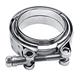 "EvilE 3"" V-Band Male Female Clamp Flange Kit Universal"