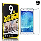 Galaxy J5 2016 Screen Protector, Bear Village® Tempered Glass Screen Protector, HD Screen Protector Film for Samsung Galaxy J5 2016-1 PACK