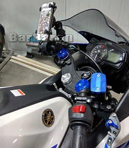 Motorrad Handyhalterung Navi Halterung Mit Usb Port Für Suzuki Dl650 V Strom Dl1000 Gsx1300 B King Auto