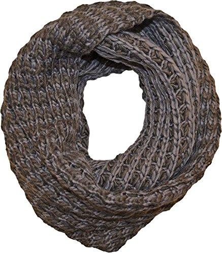 Tahari Popcorn Knit Infinity Scarf