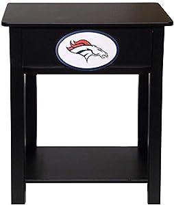 Fan Creations Denver Broncos Nightstand/Side Table