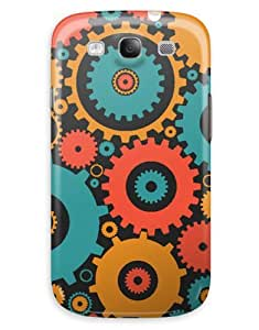 Cartoon Cogs Case for your Galaxy S3