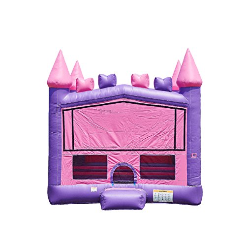 - JumpOrange Commercial Grade Inflatable Princess Bricks Bounce House Backyard Party Moonwalk Size 15'x15'
