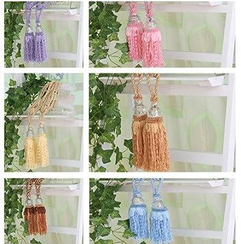 Embrasse pour rideau Pampilles cordon spécial rideaux en perles à ...