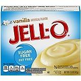 Jell-O Instant Sugar-Free Fat-Free Vanilla Pudding & Pie Filling, 1.5 oz Box
