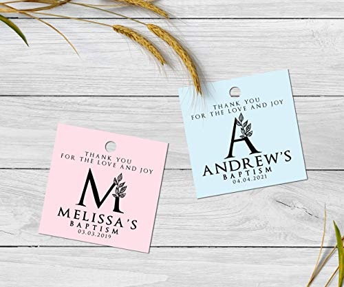 Baptism Gift Tags - Baptism Gift Tags Baptism Thank You Favors Baptism Gift Tags First Communion Christening Tags Girl Baptism Boy Baptism Favors Personalized