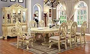 Amazon Com Inland Empire Furniture S Wyndmere 9 Pc Dining